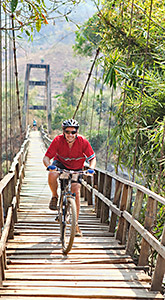 Thailand biking trip photo